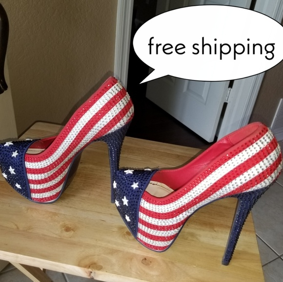 Shoes - Shoes. 4th of July
